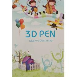 Kniha šablon pro 3D pero